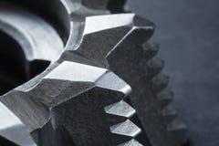 Fragment van de snijder van het staalmalen royalty-vrije stock afbeeldingen