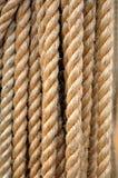Fragment van dikke kabelachtergrond royalty-vrije stock afbeelding