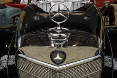 Fragment van een limousine Mercedes-Benz 300 s-Cabriolet (W 188 I), 1953 Stock Afbeelding