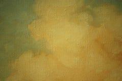 Fragment van een oud beeld, het schilderen Stock Afbeeldingen