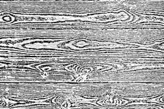 Fragment van een oude boom met een knoop, rekening van hout royalty-vrije illustratie