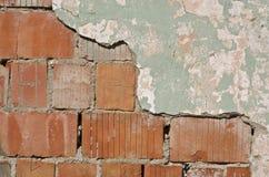 Fragment van een oude muur Stock Foto's