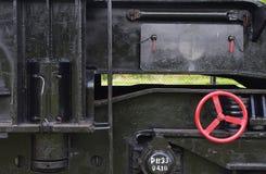 Fragment van een trein Stock Fotografie