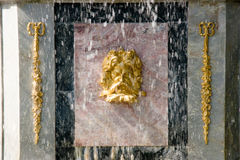 Fragment van fontein Royalty-vrije Stock Afbeeldingen