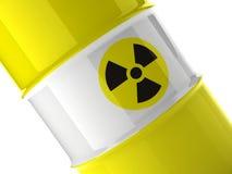 Fragment van geel vat Stock Afbeelding