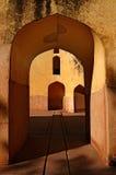 Fragment van het architecturale besluit Stock Foto