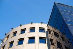 Fragment van het gebouw Stock Fotografie