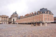 Fragment van het kasteel van Versailles Stock Foto