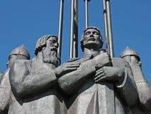 Fragment van het Monument St. Alexander Nevsky, Pskov, Rusland Royalty-vrije Stock Fotografie