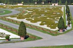 Fragment van het park in Ludwigsburg, baden-Wurttemberg, Duitsland stock fotografie