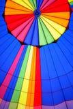 Fragment van hete luchtballon   Stock Foto's