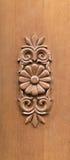 Fragment van houten deur Royalty-vrije Stock Foto's