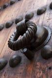 Fragment van houten deur Royalty-vrije Stock Fotografie