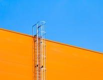 Fragment van industriële architectuur Stock Afbeelding