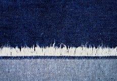 Fragment van jeans Royalty-vrije Stock Foto's