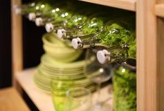 Fragment van moderne keuken Stock Fotografie