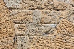 Fragment van muurachtergrond Royalty-vrije Stock Afbeelding
