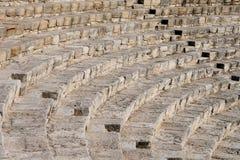 Fragment van oud amfitheater Stock Foto