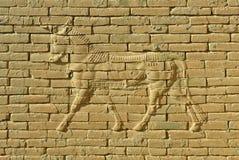 Fragment van oude muur royalty-vrije stock foto's