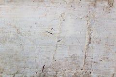 Fragment van oude witte muren met barsten abstracte achtergrond Royalty-vrije Stock Afbeeldingen
