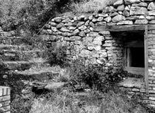 Fragment van Turkse middeleeuwse vesting Fetislam stock foto's