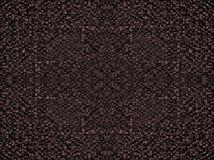 Fragment van vierkante textuur of de kruising van de oppervlakte geel rood roze oranje grijs kastanjebruin gouden donker gekleurd Royalty-vrije Stock Afbeelding