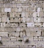 Fragment van Westelijke Muur, Kotel in Jeruzalem Israël stock afbeelding