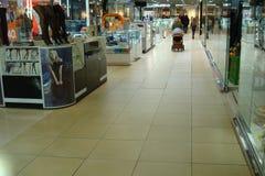 Fragment van zaal het commerciële complex onderhouden stock afbeeldingen