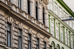 Fragment of Vienna architecture Royalty Free Stock Photos