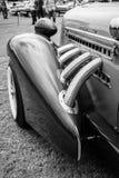 Fragment of vintage car Auburn 852 Speedster. Royalty Free Stock Photography
