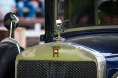 Fragment of a vintage car Horch 8 Typ 303 Royalty Free Stock Image