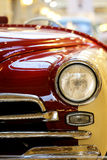 Fragment of a vintage car Royalty Free Stock Photo