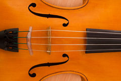 Fragment of violin Stock Images