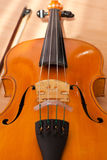 Fragment of a violin Stock Image