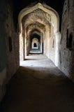 Fragment von Bhangarh-Ruinen in Rajasthan, Indien, ist es einer der meisten verwunschenen Orte auf Erde lizenzfreie stockbilder