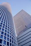 Fragment von modernen Gebäuden Lizenzfreies Stockfoto