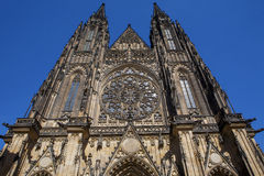Fragment von St. Vitus Cathedral Stockfoto