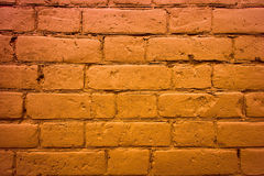 Fragment of the wall of brick Stock Image