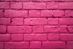 Fragment of the wall of brick Royalty Free Stock Photo