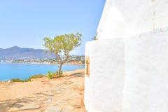 Fragment wall of Church Agios Georgios Sarantaris. Stock Photos
