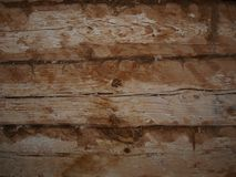 The fragment of the wall of the house royalty free stock images