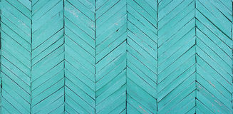 The fragment of a wall of the house is laid out by a wooden lath Royalty Free Stock Images