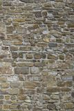Fragment of a wall from Italy. Fragment of a stone wall stock photo