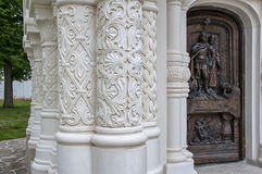 Fragment of a wall in Monastery Royalty Free Stock Image