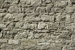 Fragment of a wall relief ancient fortification Royalty Free Stock Photography