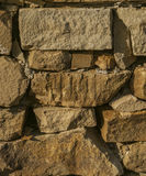 Fragment of a wall from a  stone Royalty Free Stock Image