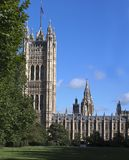 Fragment of  Westminster  Palace Stock Photography