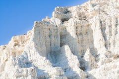 Fragment of white cliff Royalty Free Stock Photos