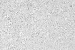 Fragment of white plastered walls Royalty Free Stock Photos