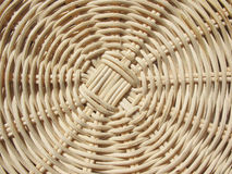 Fragment of a wicker basket Royalty Free Stock Photos
